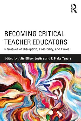 Book cover: 'Becoming Critical Teacher Educators'