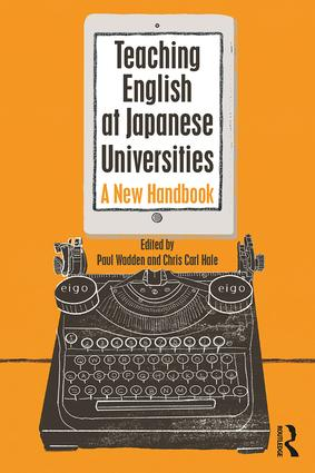 Book cover: 'Teaching English at Japanese Universities'