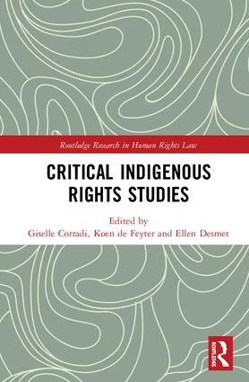 Book cover: 'Critical indigenous rights studies'